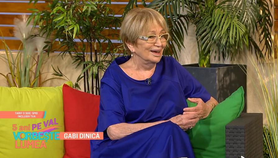 Cum a învins singurătatea Gabi Dinică, soția regretatului actor Gheorghe Dinică