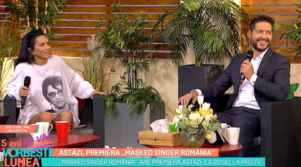 """Astăzi, premiera """"Masked Singer România"""". Informații noi oferite de INNA și Jorge"""
