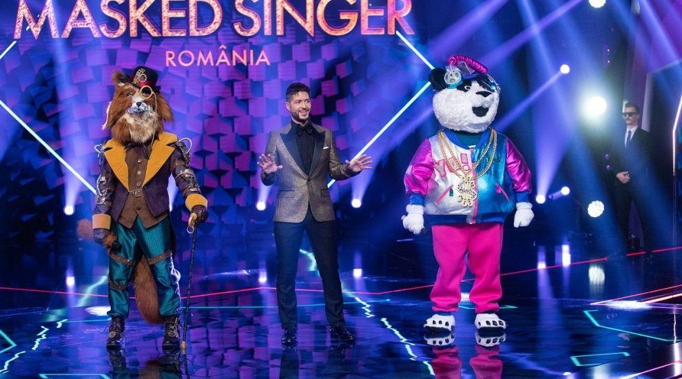 Masked Singer România: Duelul dintre Vulpoi și Ursul Panda – cine a ieșit învingător