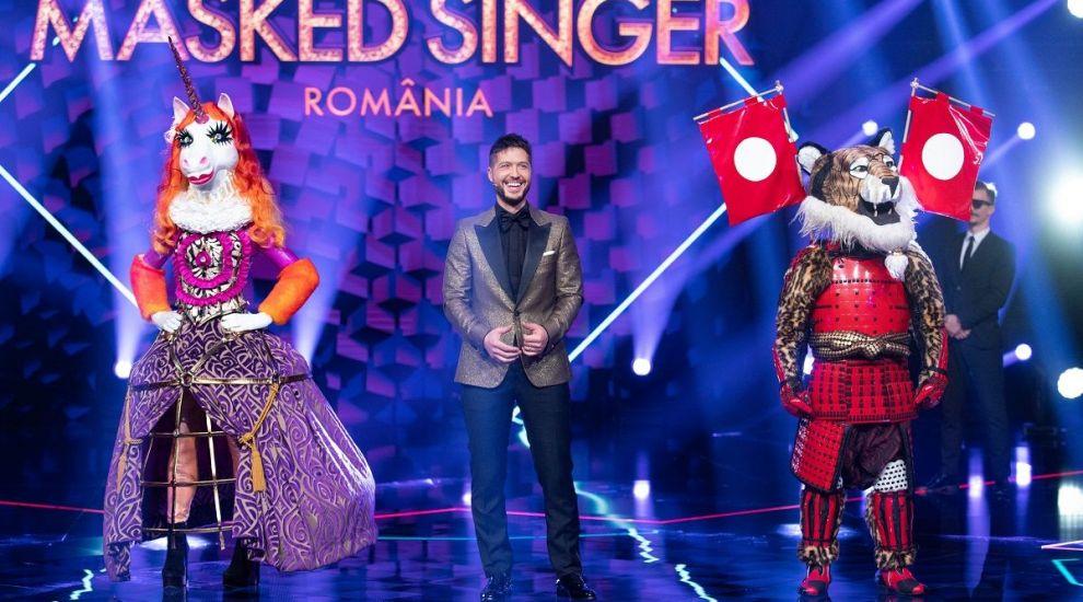 Masked Singer România: Duelul dintre Unicorn și Tigru – cine a reușit să câștige inimile detectivilor