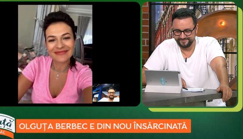 Olguța Berbec, nașa Vlăduței Lupău, este din nou însărcinată. Artista încerca de mai mulți ani să mai aibă un copil