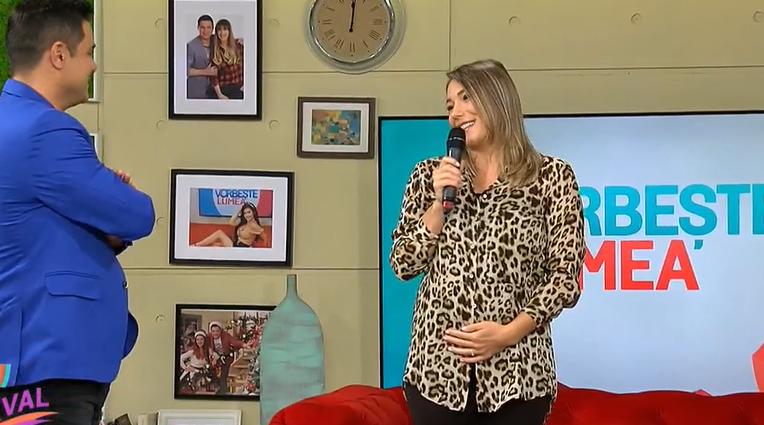 Monica Roșu este însărcinată. Gimnasta a dat vestea în direct, la Vorbește lumea