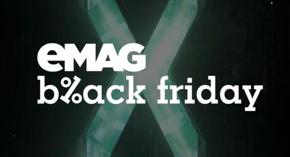 Black Friday la eMAG are loc pe 13 noiembrie 2020. Ce anunță organizatorii