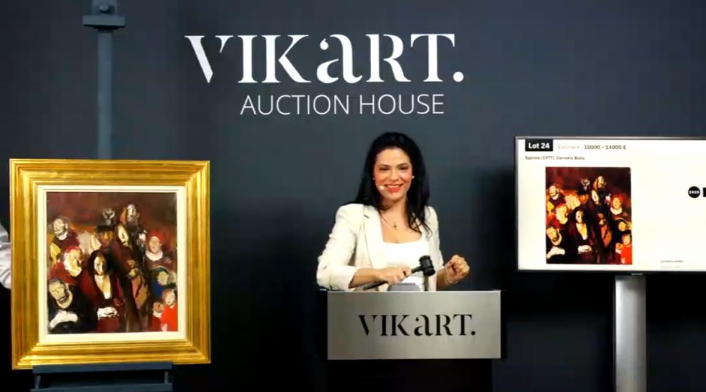 Vânzare-record în pandemie pe piața de artă. Un tablou al lui Corneliu Baba s-a tranzacționat la 25.000 de euro