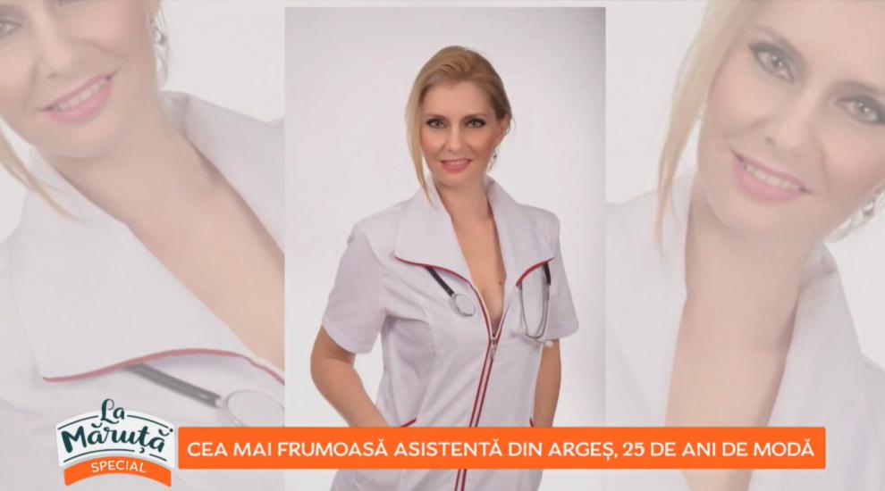 Cea mai frumoasă asistentă medicală din Argeș, 25 de ani de modă. Povestea Gianinei Petrescu