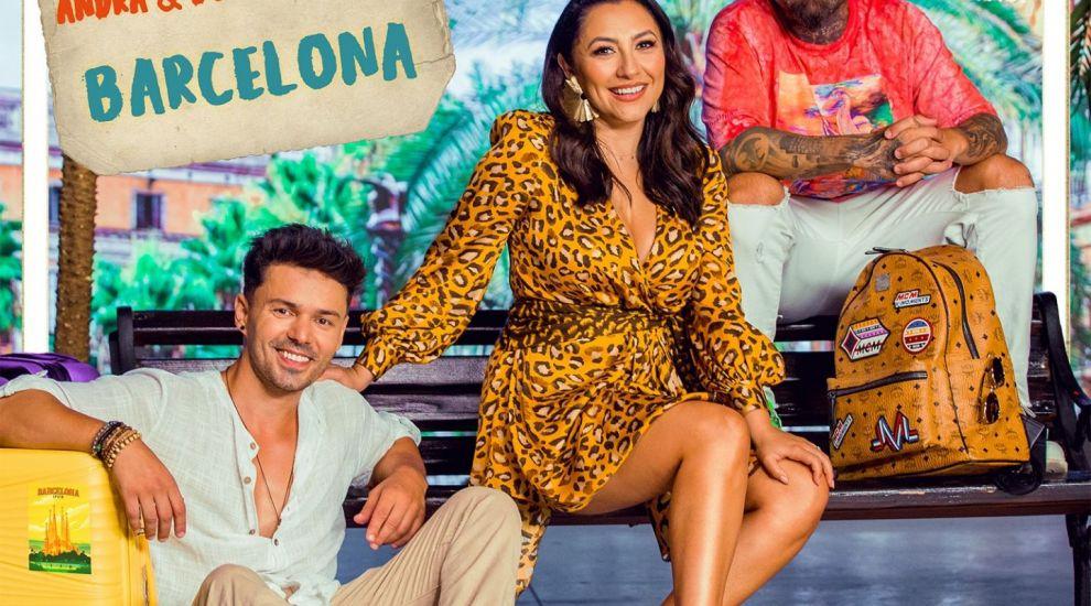"""Andra, Dony şi Matteo își așteaptă fanii la poarta """"online"""" și lansează """"Barcelona"""""""
