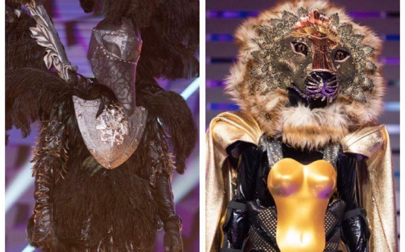 Corbul și Leoaica, show exploziv și indicii noi! Ce spun detectivii Masked Singer