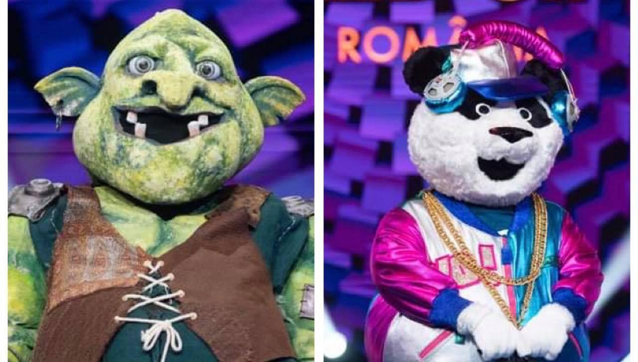 Căpcăunul și Panda, în finala Masked Singer România! Ce indicii prețioase au pentru detectivi?