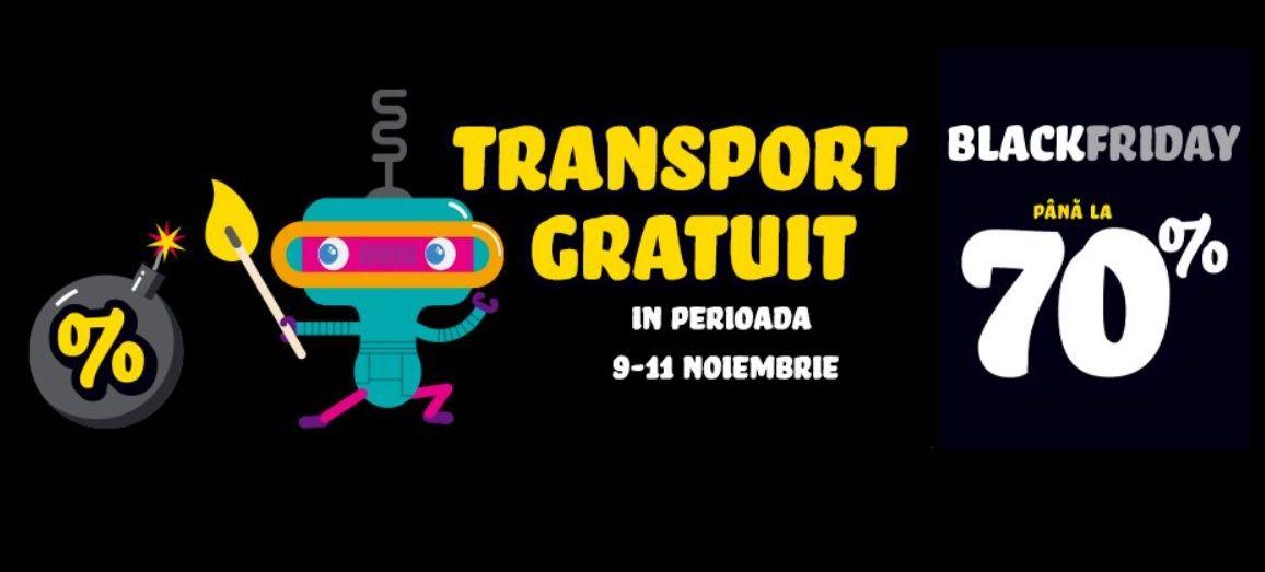 Black Friday 2020! Noriel oferă jucării reduse cu 70% și transport gratuit în perioada 09-11 noiembrie