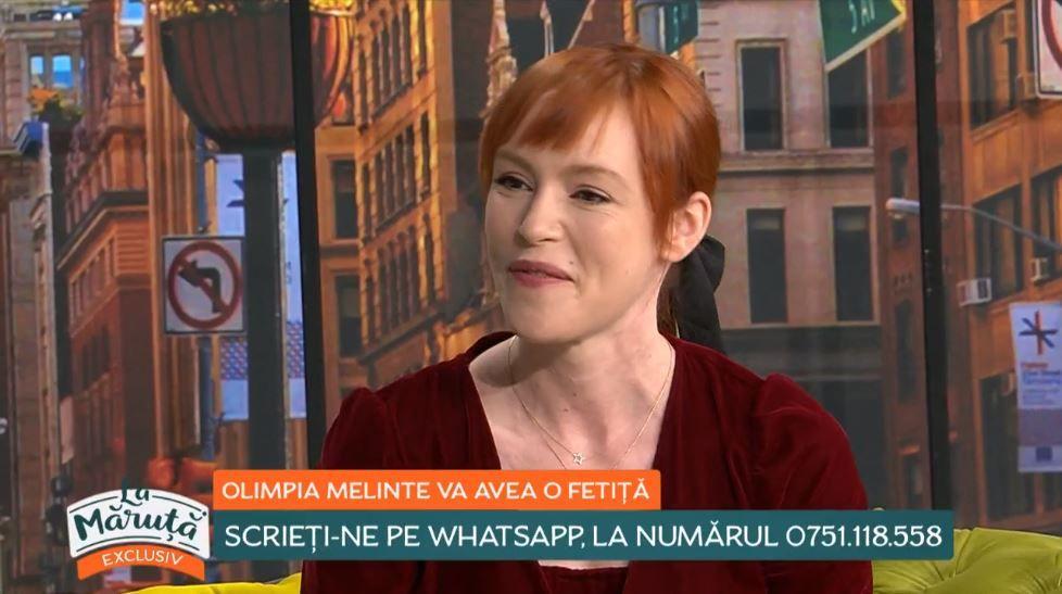 Olimpia Melinte, o mămică împlinită. Actrița, însărcinată în 18 săptămâni, a dezvăluit ce sex va avea bebelușul
