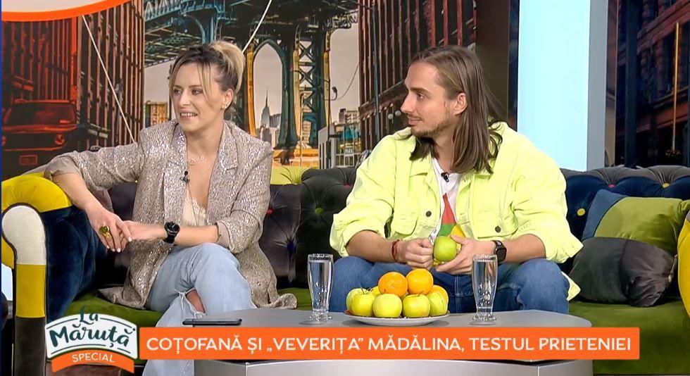 Sebastian Coțofană și Mădălina Petre au dat testul prieteniei în emisiunea La Măruță