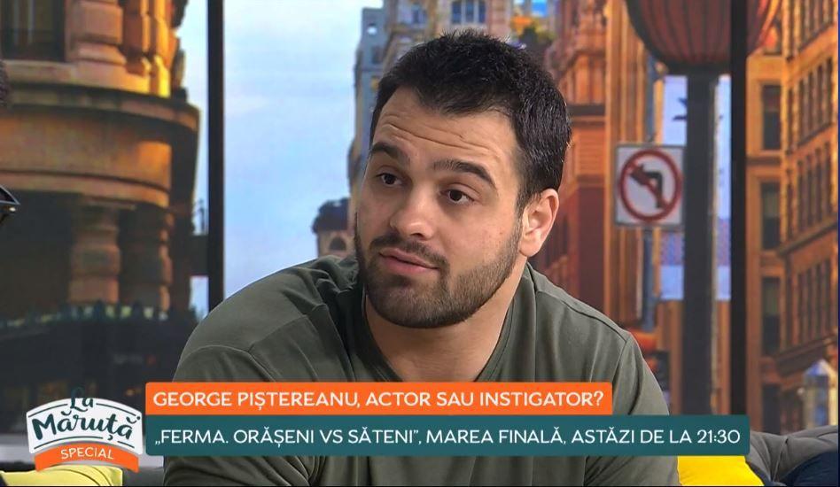 George Piștereanu și-a cerut scuze public pentru atitudinea pe care a avut-o față de Elena Chiriac