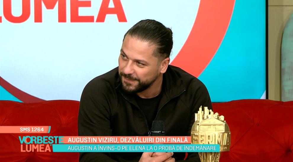 Augustin Viziru, dezvăluiri din finala Ferma. Orășeni vs. Săteni. Ce mărturisiri a făcut despre parcursul în competiție