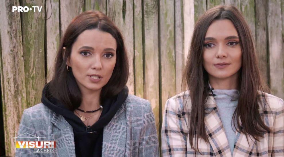 VIDEO Laura Boghiu și-a adus sora geamănă la Visuri la cheie. Cu ce se ocupă Oana Boghiu