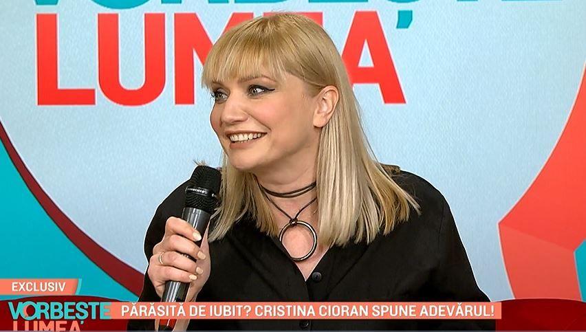 """Cristina Cioran, primele declarații despre noul iubit: """"Sunt foarte fericită!"""""""