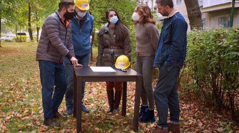 """VIDEO Dilema sezonului pentru arhitecții Visuri la cheie: """"Facem o casă care să-i acomodeze pe toți patru"""""""