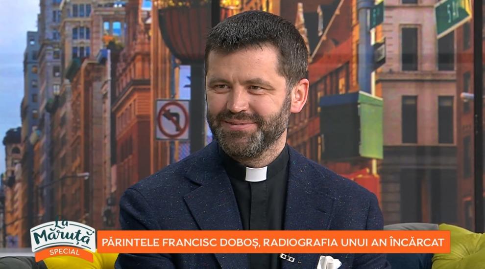 """Părintele Francisc Doboș, radiografia unui an încărcat: """"Pandemia ne-a ajutat să redescoperim umanitatea"""""""