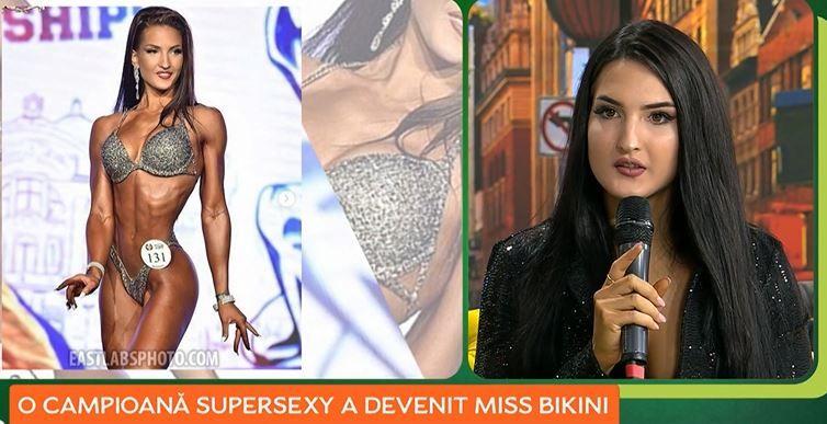 """O campioană super sexy a devenit """"Miss Bikini Fitness 2020""""! Cum arată Maria Nedelcu"""