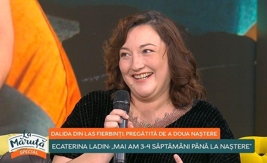 """Ecaterina Ladin, Dalida din """"Las Fierbinți"""", dezvăluiri despre sarcină și familie"""