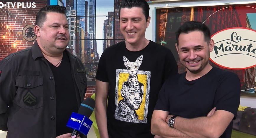 """Mihai Bobonete, Costi Diță și Mihai Rait, despre experiența lor ca invitați speciali în emisiunea """"La Măruță"""""""