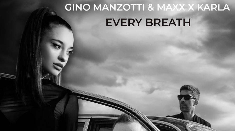 "Gino Manzotti și Maxx prezintă ""Every breath"", o colaborare fresh cu artista Karla"