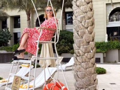 Andreea Esca și Alexia Eram, vacanță ca fetele în Dubai: Cadoul nostru a sosit