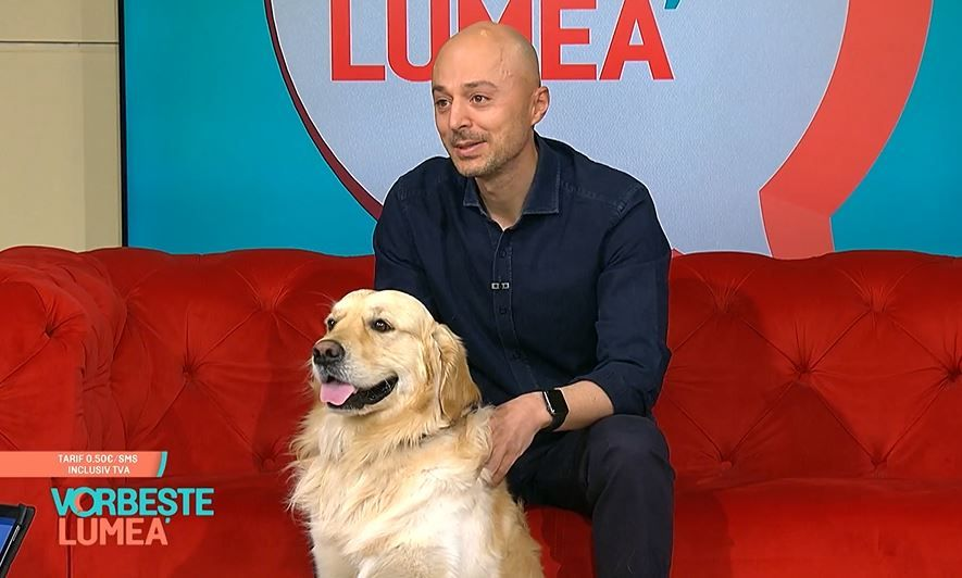 Faceți cunoștință cu Hoka, câinele vegan! Ce mănâncă patrupedul maratonistului Andrei Roșu