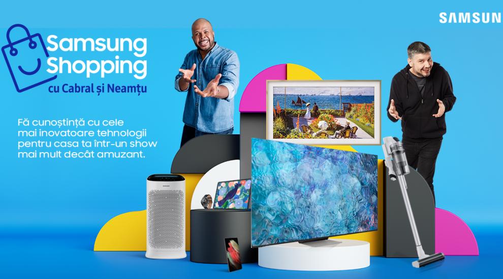 (P) Când nu știi ce să mai cumperi de la Samsung, întreabă-i pe Cabral Ibacka și Cătălin Neamțu!
