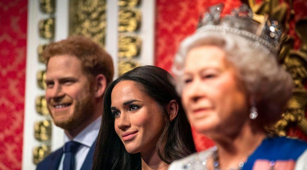Meghan Markle și Prințul Harry, separați de Familia Regală și la Muzeul figurilor de ceară Madame Tussauds