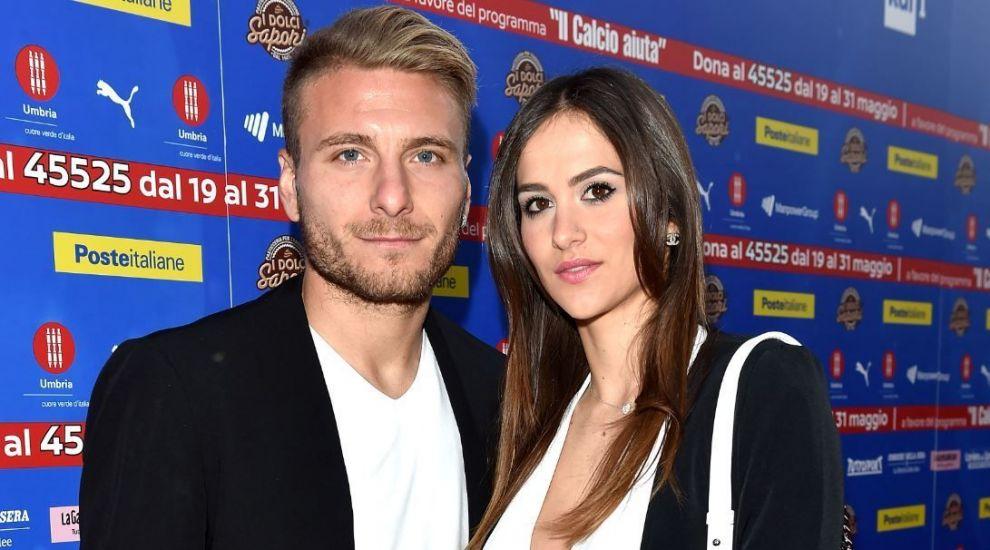 Soția lui Ciro Immobile i-a făcut galerie atacantului italian la primul meci de la EURO 2020