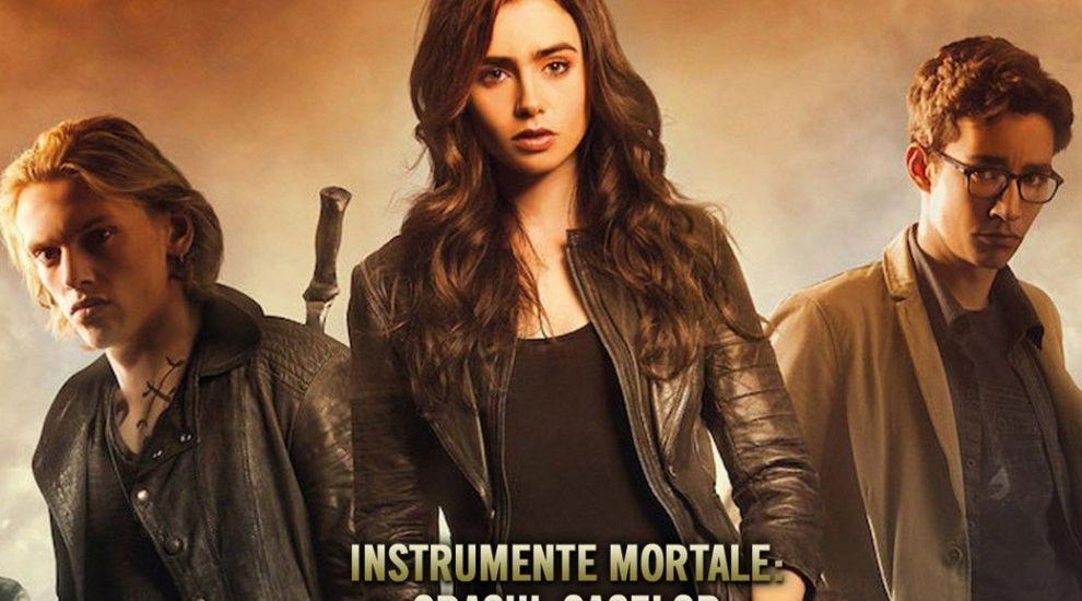 "VOYO.RO: Actrița Lily Collins devine Clary Fray în filmul de acțiune ""Instrumente Mortale: Orașul Oaselor"""