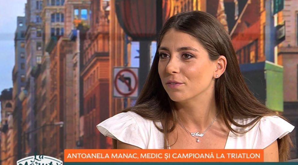 Povestea impresionantă a Antoanelei Manac, medic și campioană națională la triatlon