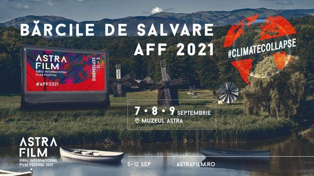 """Vizionări de filme din bărci care plutesc pe lac! Astra Film Festival lansează """"Bărcile de Salvare"""""""
