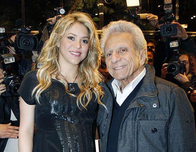 Shakira, imagine rară alături de părinții ei! Tatăl artistei a împlinit 90 de ani