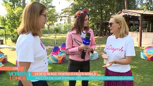 Andreea Esca și Mihaela Geoană luptă pentru o cauză comună