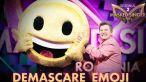 emoji si a dat masca jos cine este vedeta care s a aflat sub costum la masked singer romania 1 7 size2