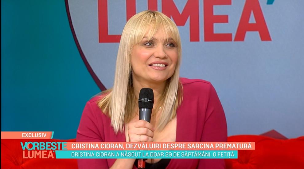 Cristina Cioran poate răsufla ușurată! Actrița, dezvăluiri emoționante despre nașterea prematură a Emei