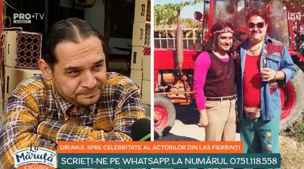"""Drumul spre celebritate al actorilor din Las Fierbinți. Constantin Diță: """"Ai mei au fost nevoiți să vândă casa"""""""