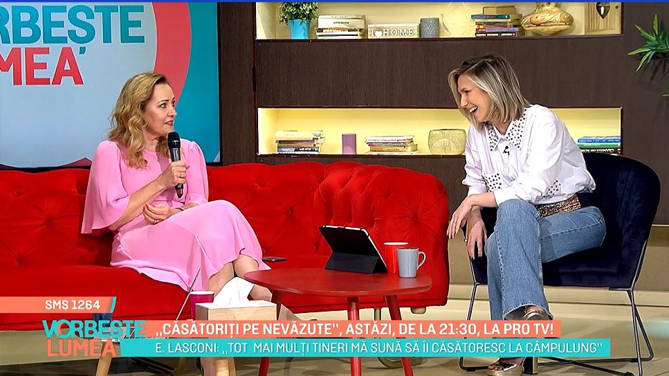 """Elena Lasconi a plâns în culisele """"Căsătoriți pe nevăzute"""": """"Camera de filmat nu a captat emoția pe care am simțit-o"""""""