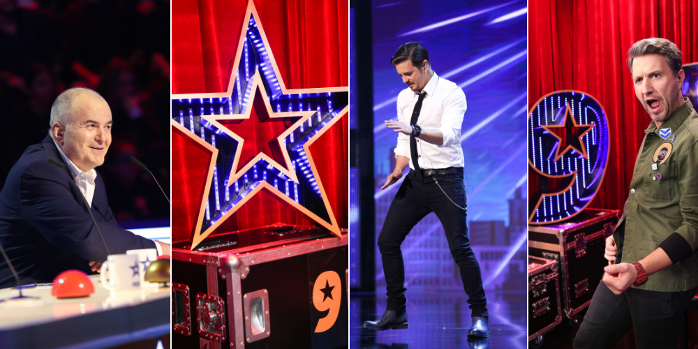 Fotografii exclusive din sezonul #9suprem Românii au talent