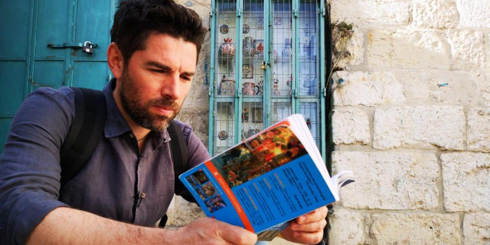 """""""IERUSALIM – ÎN AȘTEPTAREA PĂCII"""", UN REPORTAJ DE ALEX DIMA, ÎN DUMINICA FLORIILOR, LA ROMÂNIA, TE IUBESC!"""