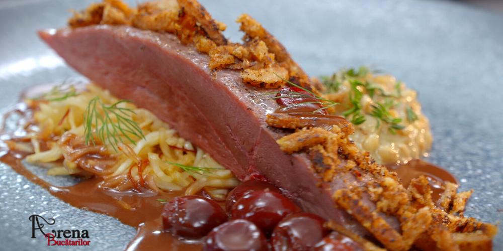 ARENA BUCATARILOR: Foie-gras rocher cu confit din pepene galben