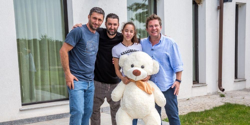 Pavel Bartoș și Smiley au îndeplinit Visuri la cheie. Roberta i-a impresionat cu dăruirea ei pentru gimnastică