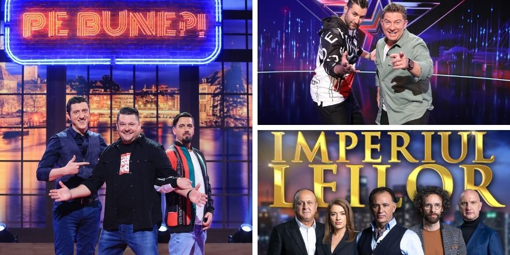 Cele mai așteptate show-uri de televiziune revin primăvara aceasta la PRO TV!  Ăsta-i spectacolul, asta-i televiziunea!