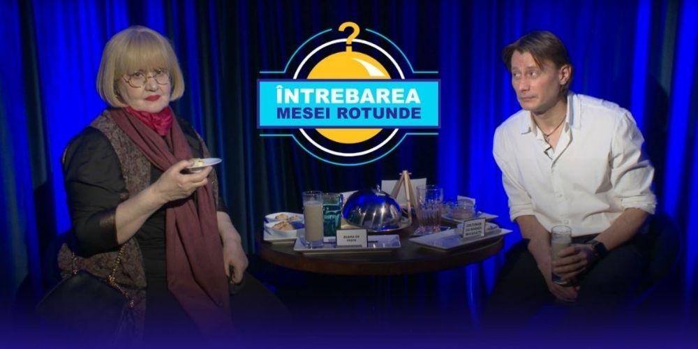 """Întrebarea Mesei Rotunde cu Rodica Mandache: """"Toată viața am fost invidioasă"""""""