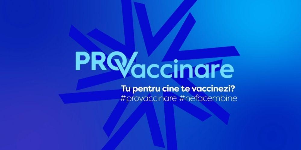 PRO TV lansează campania PRO Vaccinare care subliniază importanța imunizării, atât pentru noi, dar mai ales pentru cei de lângă noi