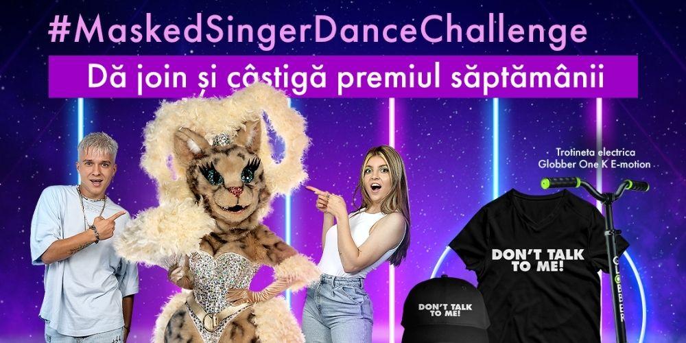 CONCURS: PISICA și tiktokerii Masked Singer au lansat un nou dans. Acceptă provocarea noastră și poți câștiga super premii