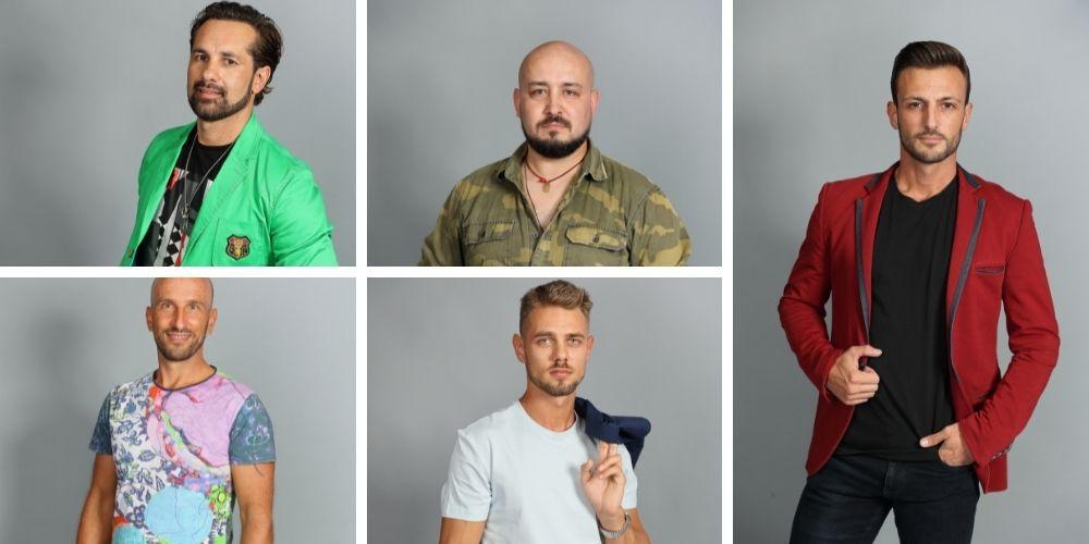 Ei sunt cei cinci bărbați care luptă pentru inimile fetelor, la Femeia alege!