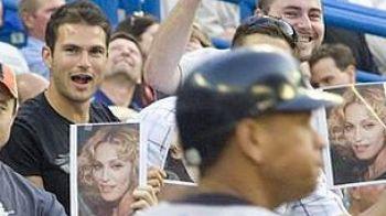 Madonna, piaza rea pentru un jucator de baseball!