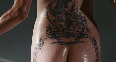 Angelina Jolie, mai tare ca Mutu la tatuaje!
